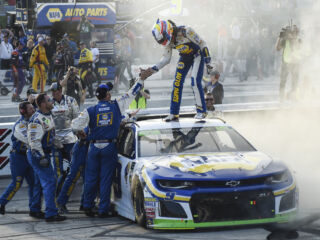 Losing lead last year at Dover made Elliott's win Sunday even more 'gratifying'