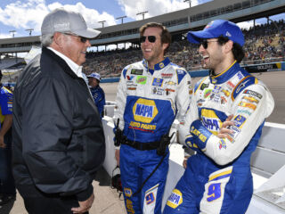 Elliott pleased with No. 9 team's progress after 'solid' third-place finish