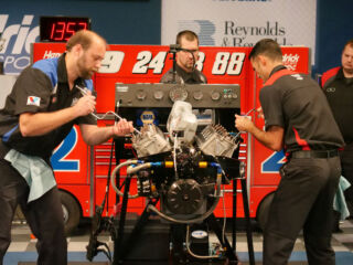 Teamwork and competition on display in 18th annual Engine Builder Showdown