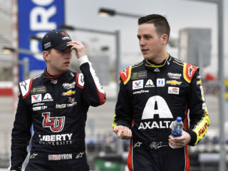 Looking to continue Las Vegas success as NASCAR heads west