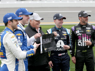 Hendrick proud to have been with Chevrolet 'since the beginning'