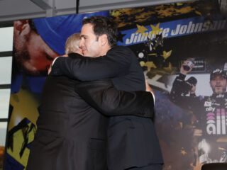 Hendrick, Gordon, Knaus and more share thoughts on Johnson's 'legacy'