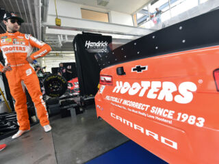 'When Chase Wins, You Win' at Hooters in 2019