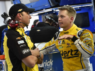 Byron prepares for unknowns at Talladega