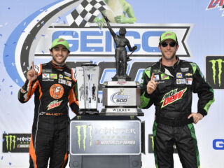 'Special' feeling as Gustafson captures first superspeedway win