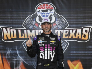 Johnson wins Texas pole, leads one-two-three qualifying sweep for the organization