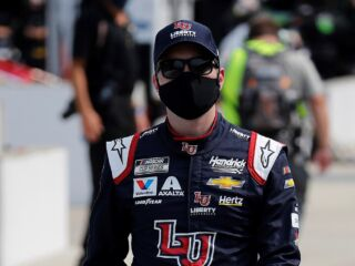 Byron on front row for Las Vegas race