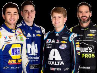 Gordon sits down with all four Hendrick Motorsports teammates