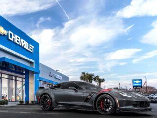 You could win Jeff Gordon's personal Corvette