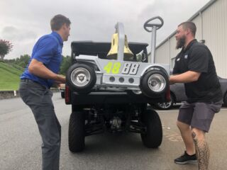 Hendrick Motorsports celebrates Bowman's first win