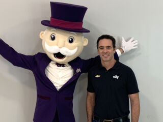 Mr. Monopoly joins Johnson and Daniels for Ally photo shoot