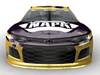 Elliott's new NAPA Brakes scheme for this weekend revealed
