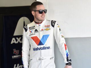 Bowman will start on front row in racing's return at Darlington