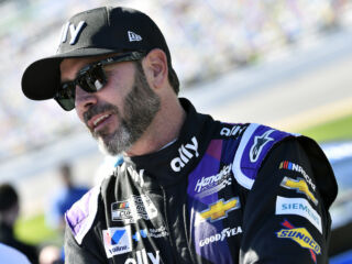 Johnson to be honored ahead of DAYTONA 500, will lead field during pace laps