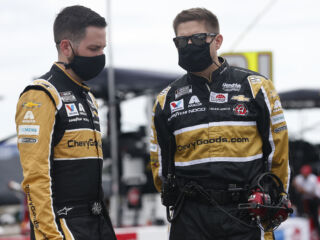 Ives focused on tough Richmond race: 'You create your own destiny in this sport'