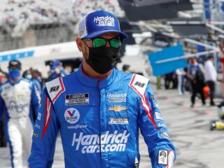 Larson excited for 'up-and-down' Richmond track: 'I'm definitely optimistic'