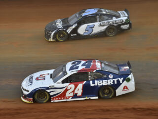Weather postpones Bristol dirt race until Monday