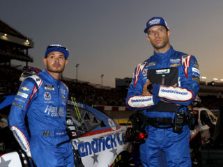 Larson, Daniels putting on the 'blinders' for Las Vegas return