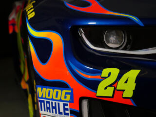 First glance at Byron inside No. 24 Chevy