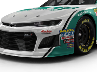 Paint Scheme Preview: New look for No. 24 car debuts at Pocono