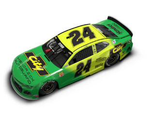 Byron's No. 24 throwback ride revealed