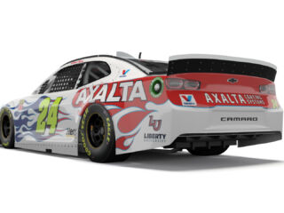 Byron's new Axalta scheme bringing the heat to Daytona