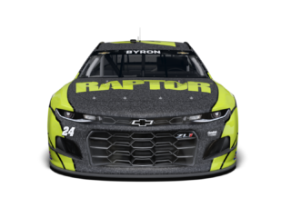 Byron to pilot special RAPTOR Chevy at Kansas, Phoenix