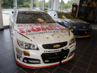 Fast Five: Fun finds in Hendrick Motorsports museum
