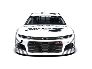 Look: No. 5 Kyle Larson Foundation Chevrolet unveiled