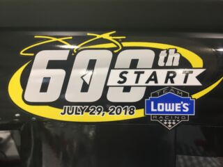 Johnson to make milestone start at Pocono