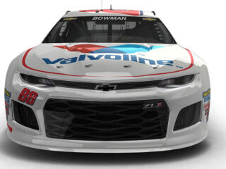 Bowman's brand-new No. 88 Valvoline Chevy revealed