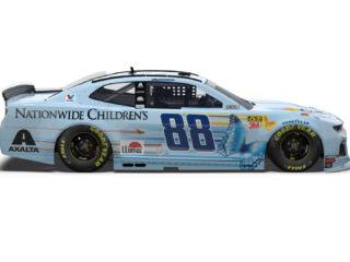Bowman's Nationwide Children's Hospital ride unveiled with a little help
