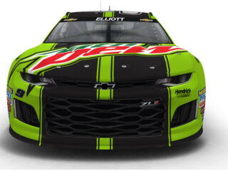 Elliott to debut new Mountain Dew look in The Clash