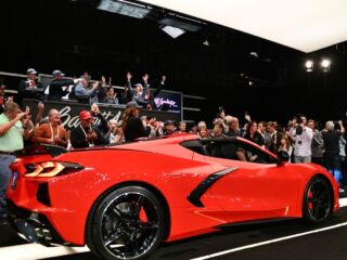 Hendrick nabs coveted 2020 Stingray to benefit Detroit Children's Fund