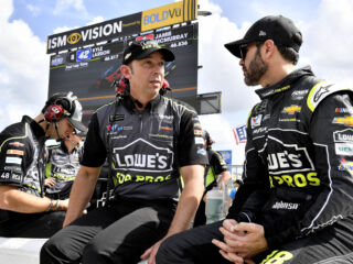 Johnson looking to 'close the deal' in Knaus' home state
