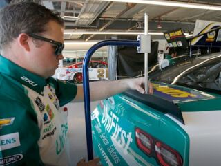 Behind the 9: Get to know underneath mechanic Cole Timm