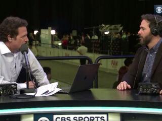 Johnson visits 'The Jim Rome Show' on Super Bowl Radio Row