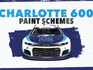 Paint Scheme Preview: Patriotic schemes at Charlotte