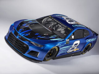 Chevrolet unveils new Camaro ZL1 for NASCAR Cup Series starting in 2018