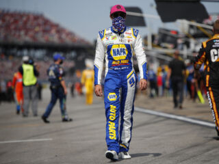 Elliott on front row for Charlotte roval