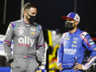 Drivers value 'hard-fought' battles after tough Martinsville race
