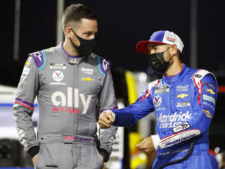 Larson, Bowman excited to face 'The Lady in Black'