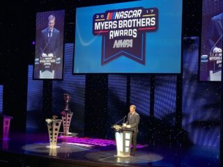 Earnhardt presented with Chevrolet Lifetime Achievement Award