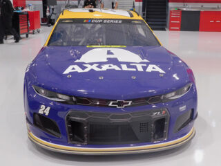 Up close with the No. 24 Axalta Tribute Chevrolet honoring Kobe Bryant
