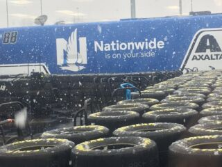 Martinsville Speedway race postponed