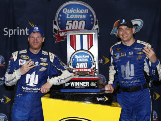 Earnhardt, Ives explain how they put No. 88 team in position to win shortened Phoenix race