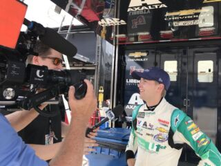 Bowman and Byron on eventful ROVAL 'Test Fest'
