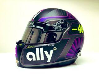 Johnson looking for help selecting Daytona 500 helmet