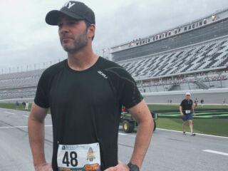 Johnson runs Daytona Beach Half-Marathon