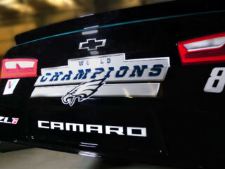 Up Close: Bowman's Axalta Chevy gets Philadelphia Eagles twist for Pocono